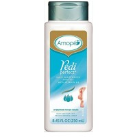 white bottle of pedi perfect daily moisturizer
