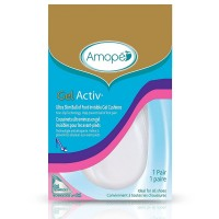 Amope GelActiv Ultra Slim Ball of Foot Cushions for Women, Size 5-10 1 pair