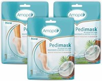 3 Pedimask Foot Socks Coconut Oil